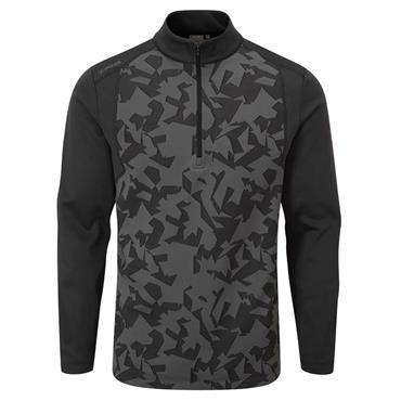 Ping Gents Felix ½ Zip Fleece Midlayer Black