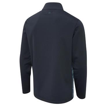 Ping Gents Felix ½ Zip Fleece Midlayer Greystone Navy