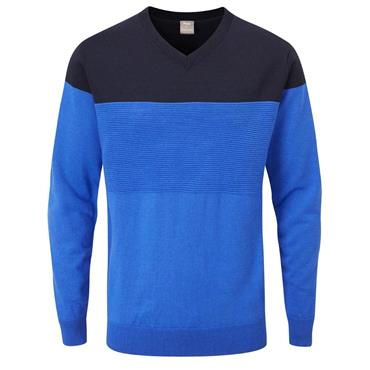 Ping Gents Lucas Midlayer Delph Blue Navy