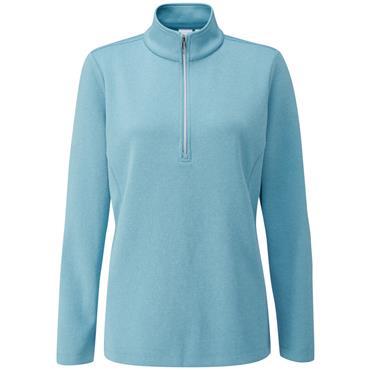 Ping Ladies Lyla 1/2 Zip Top Tranquil Blue