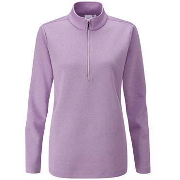 Ping Ladies Lyla 1/2 Zip Top Violet Marl