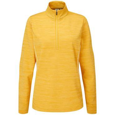Ping Ladies Skye 1/2 Zip Top Radiant Yellow