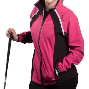 Proquip Ladies Pro Flex Waterproof Jacket Pink - Black
