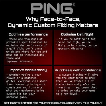 Ping G400 Fairway Woods Gents LH