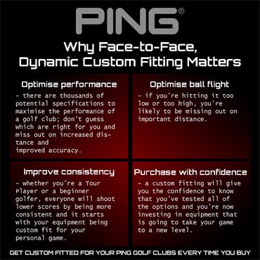 Ping G400 Fairway Woods Gents RH