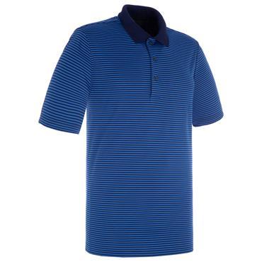 Proquip Gents Pro Tech Bar Stripe Polo Shirt Navy - Royal