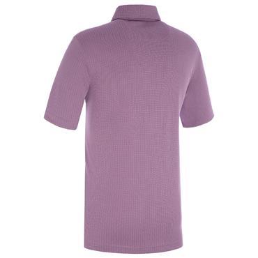 Proquip Gents Pro Tech Mini Jacquard Polo Shirt Lilac