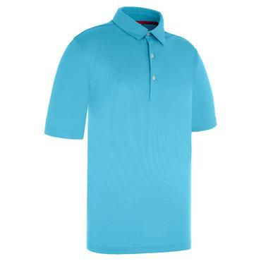 Proquip Gents Pro Tech Pin Dot Polo Shirt Azure Blue