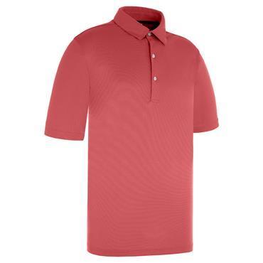 Proquip Gents Pro Tech Pin Dot Polo Shirt Crimson