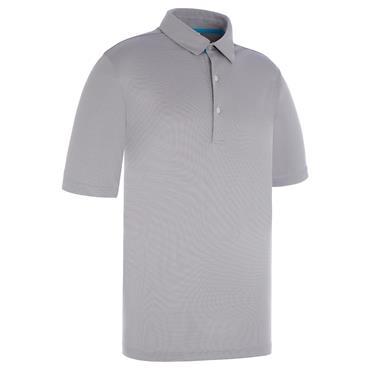 Proquip Gents Pro Tech Pin Dot Polo Shirt Steel Grey