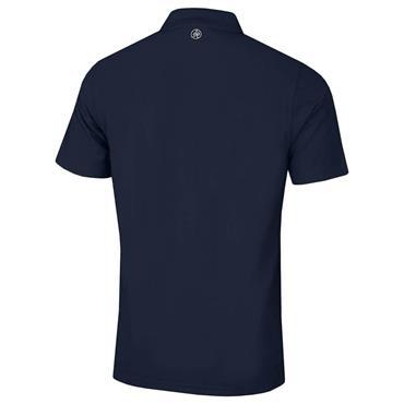 Proquip Gents Pro Tech Plain Polo Shirt Navy