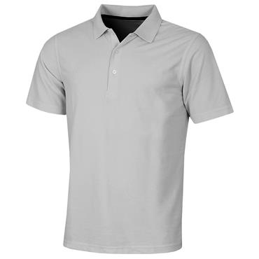 Proquip Gents Pro Tech Plain Polo Shirt Steel
