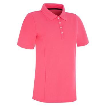 Proquip Ladies Pro Tech Polo Shirt Fuschia