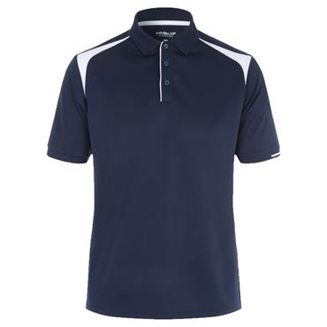 Proquip Gents Tech Panel Polo Shirt Navy