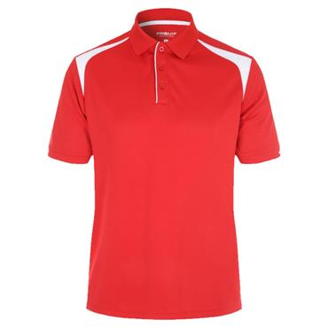 Proquip Gents Tech Panel Polo Shirt Red