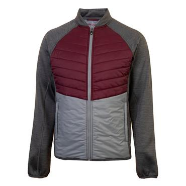 Proquip Gents Therma-Excel Wind Jacket Burgundy Grey