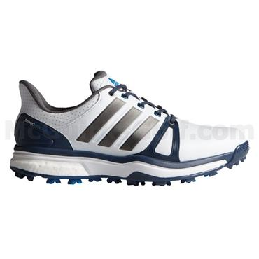 adidas Gents Adipower Boost 2 Golf Shoes White - Blue