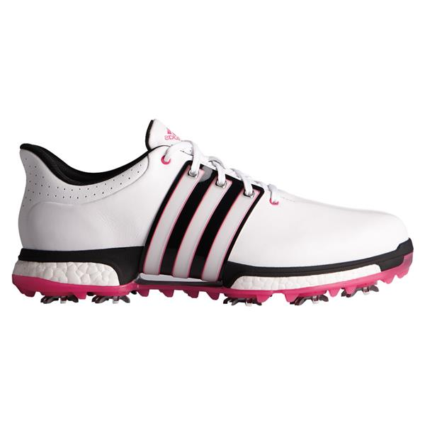 72059be10ae99 adidas Gents Tour 360 Boost Wide Shoes Footwear White - Black - Pink ...