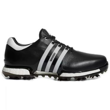 7db11aa49c72 Adidas Gents Tour 360 Boost 2 Shoes Black - White ...