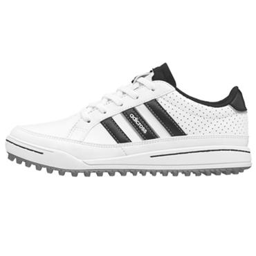 adidas Junior Adizero Sport Shoes White - Black - Silver