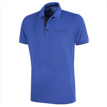 Galvin Green Marty Tour V8+ Shirt Surf Blue