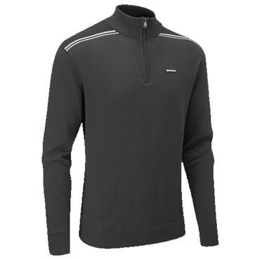 Stuburt Gents Hydro Sport 1/2 Zip Sweater Black