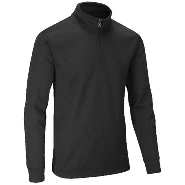 Stuburt Gents Endurance Sport Zip Neck Performance Sweater Black