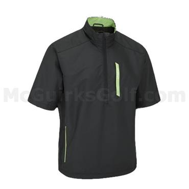 Stuburt Gents Vapour Sport 1/2 Zip Windshirt Black