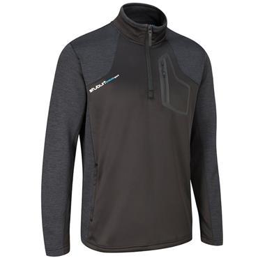 Stuburt Gents Evolve Sport 1/2 Zip Fleece Top Black