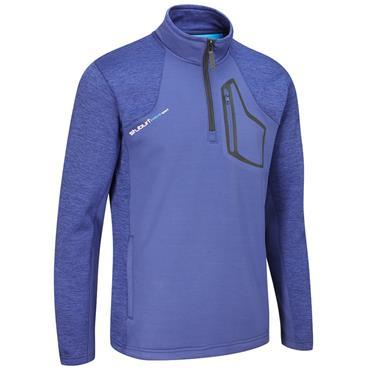 Stuburt Gents Evolve Sport 1/2 Zip Fleece Top Midnight