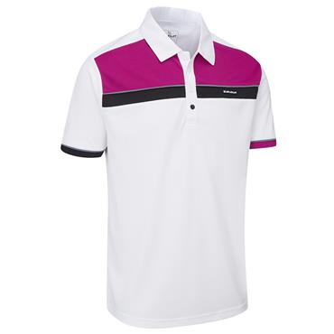 Stuburt Gents Urban Response Polo Shirt White