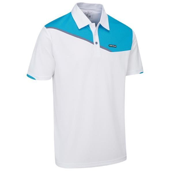 2dedfbc34 Code P-SBTS1024WHITEGentsSS18. Stuburt Urban Corby Sport Polo Shirt White  SBTS1024