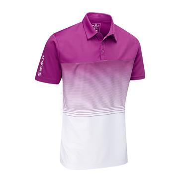 Stuburt Gents Evolve Dalton Polo Shirt Plum