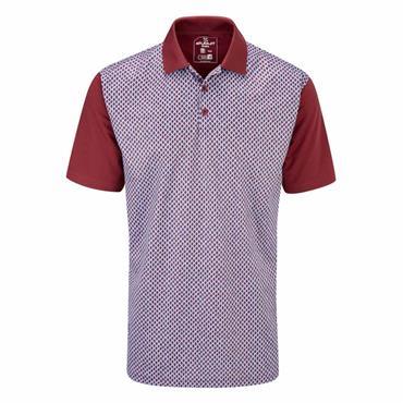 Stuburt Gents Chartsworth Polo Shirt Burgundy
