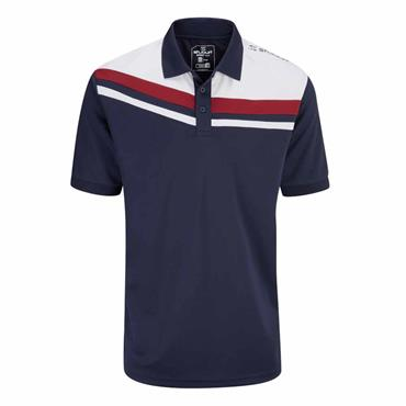 Stuburt Gents Leckford Polo Shirt Midnight