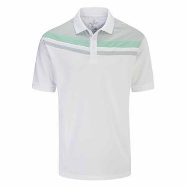 Stuburt Gents Leckford Polo Shirt White