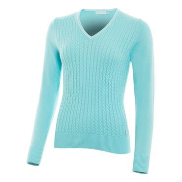 Green Lamb Ladies Brid Cable Sweater Capri