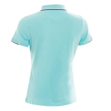 Green Lamb Ladies Paige Jersey Club Polo Shirt Capri