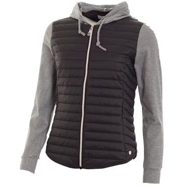 Green Lamb Ladies Josie Padded Hooded Jacket Black