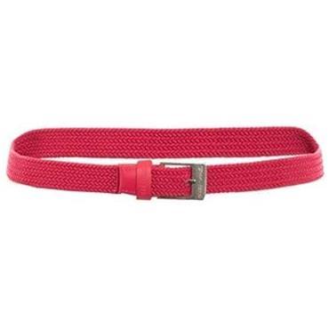 Green Lamb Ladies Desiree Stretch Belt Red