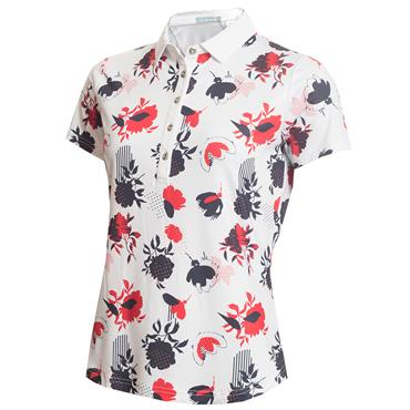 Green Lamb Edel Printed Polo Floral