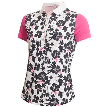 Green Lamb Edel Printed Polo Butterfly