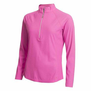 Green Lamb Ladies Frederique Mid Layer Top Orchid