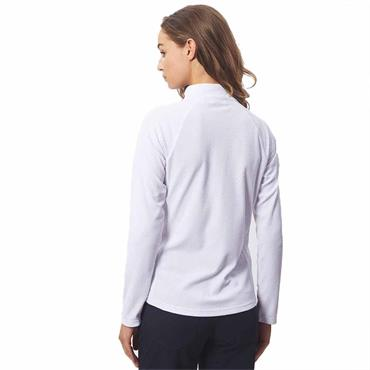 Green Lamb Ladies Frederique Mid Layer Top White