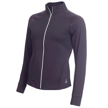 Green Lamb Fianna Long Sleeve Zipped Top Navy