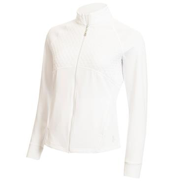 Green Lamb Fianna Long Sleeve Zipped Top White