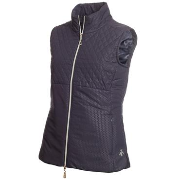 Green Lamb Karen Padded Gilet Navy