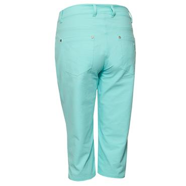 Green Lamb Ladies Maureen Spot Pedal Pushers Opal