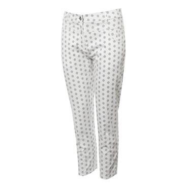 Green Lamb Ladies Mandy Printed Crop Trousers Mini Spot
