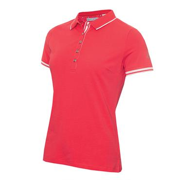 Green Lamb Ladies Ella Club Polo Shirt Strawberry